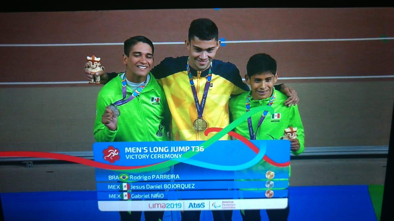 Atleta da Aparu obtém segundo ouro nos Jogos Parapan-Americanos