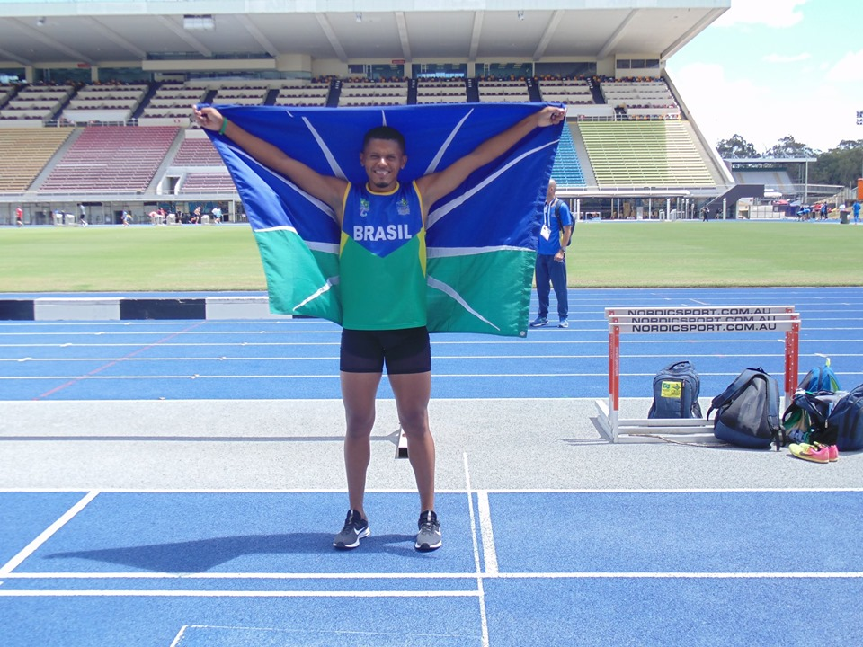 Paratleta da equipe Aparu conquista ouro no Global Games