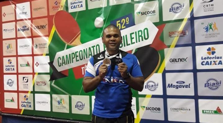 Atleta da Aparu disputará o 53º Campeonato Brasileiro de Tênis de Mesa 2019